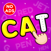 ABC Preschool Kids Spelling Tracing & Phonics game 圖標