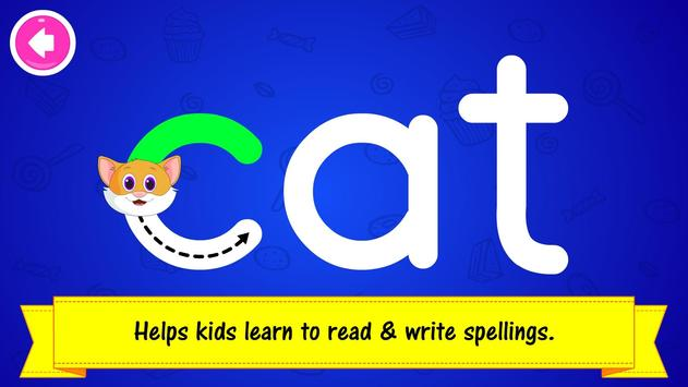 ABC Preschool Kids Spelling Tracing & Phonics game 截圖 12