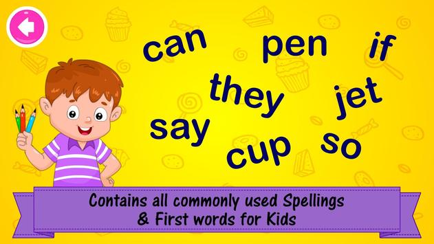 ABC Preschool Kids Spelling Tracing & Phonics game 截圖 3