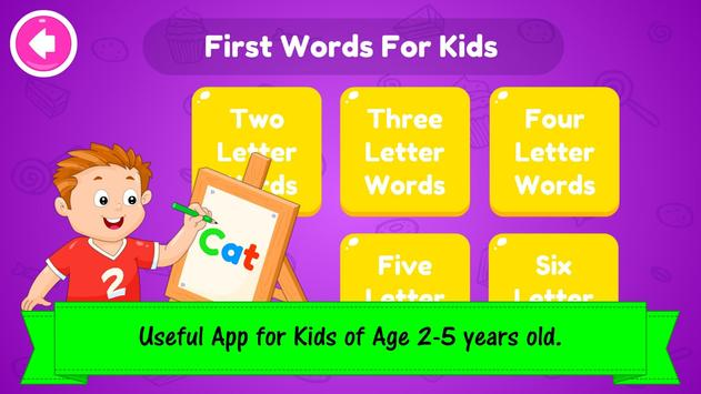 ABC Preschool Kids Spelling Tracing & Phonics game 截圖 4