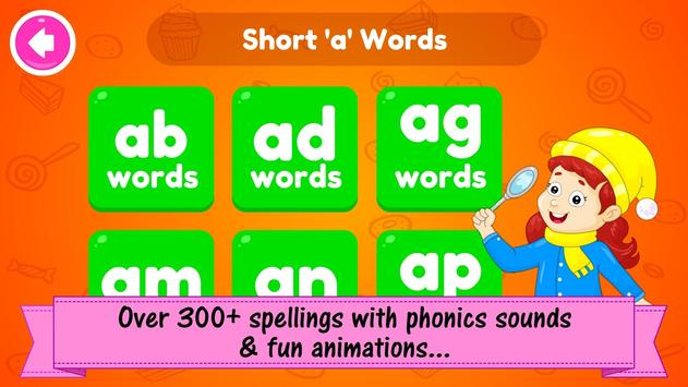 ABC Preschool Kids Spelling Tracing & Phonics game 截圖 7