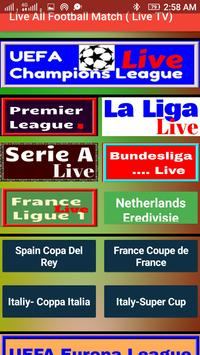 Poster All Football Match Live - Soccer All Live on TV