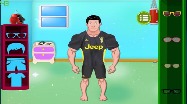 Funny Ronaldo Workout screenshot 1