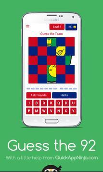 🏴 Guess the 92 screenshot 2
