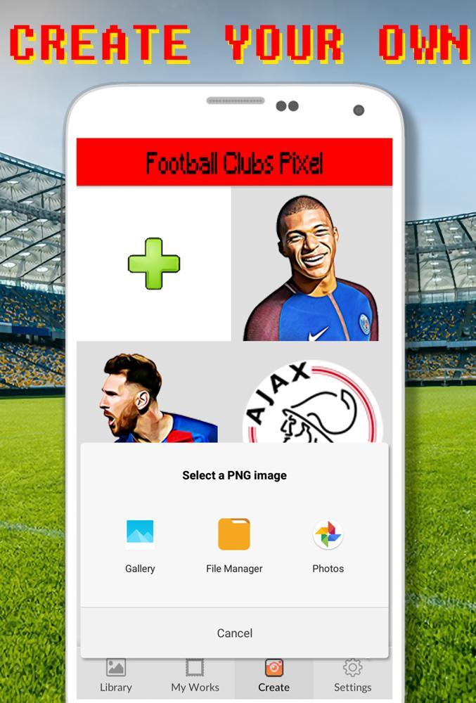 Logo De Football à Colorier Par Nombre Pixel Art Pour