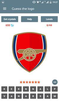 Soccer Clubs Logo Quiz poster