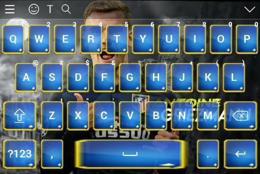 Antoine Griezmann Keyboard 2018 screenshot 12