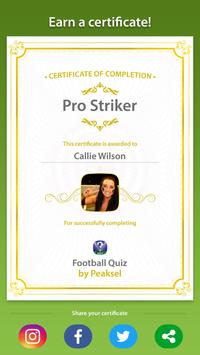 Soccer Quiz 2020 (Football Quiz) screenshot 9