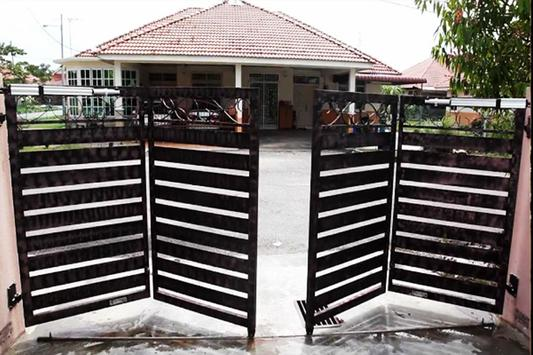 folding gate poster
