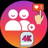 4K Followers -- followers& Likes for Instagram आइकन