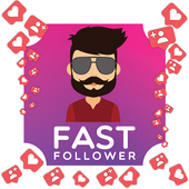 real followers, likes for insta # increase & gain icon