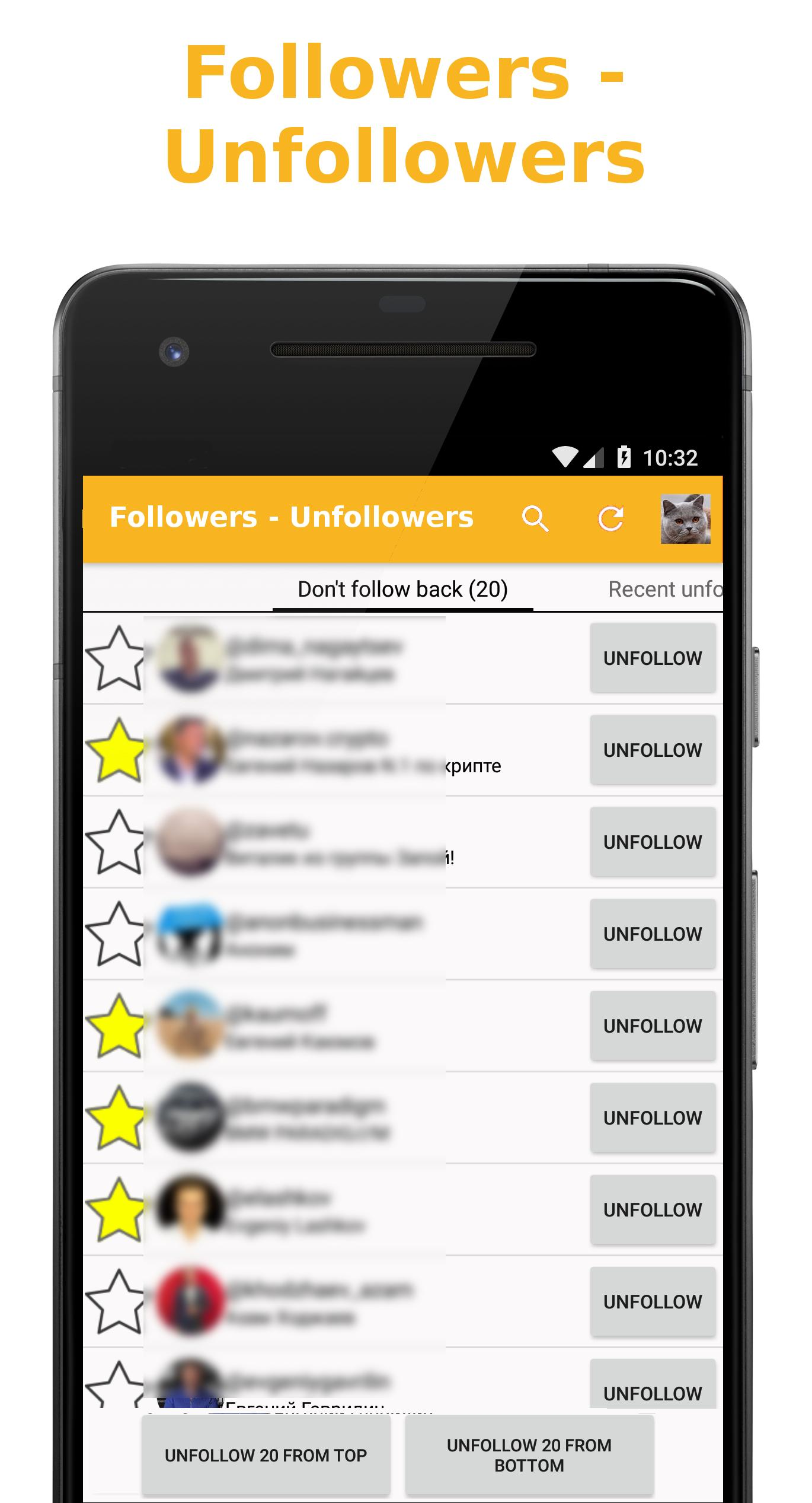 Followers - Unfollowers for Android - APK Download
