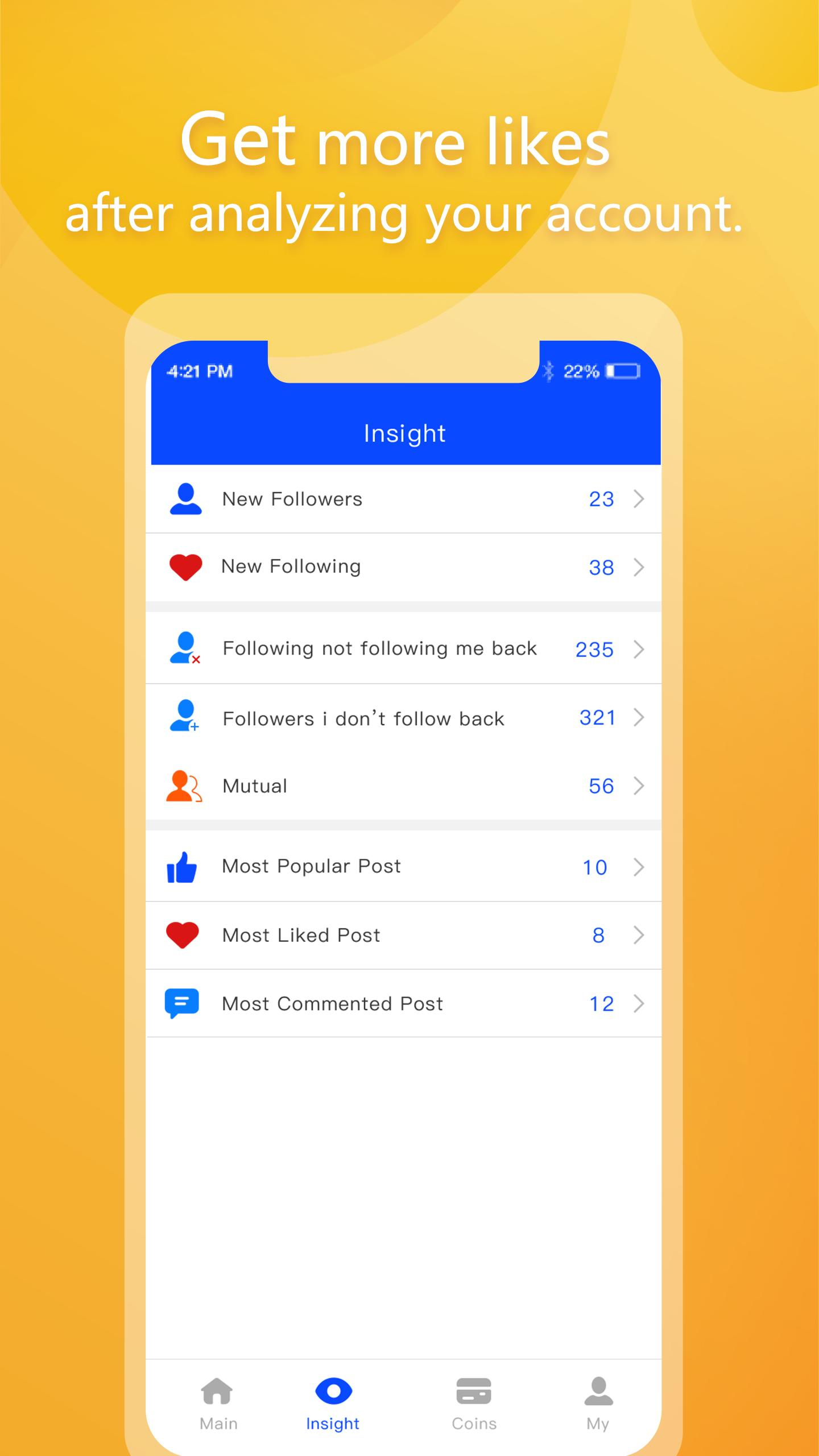 1000 Followers - Get Likes Insight for Android - APK Download