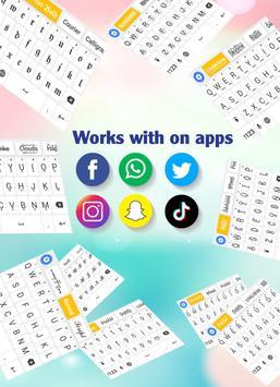 Fonts Keyboard - Text Fonts & Emoji screenshot 6