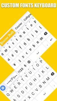 Fonts Keyboard - Text Fonts & Emoji poster