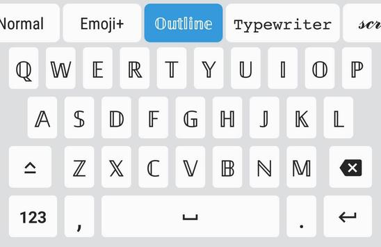 Fonts स्क्रीनशॉट 1