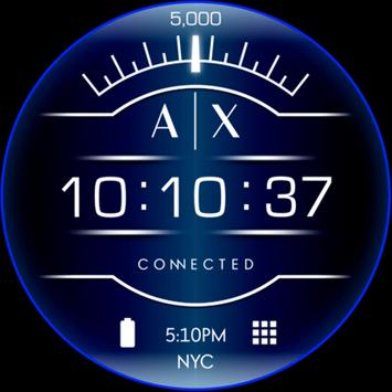 Armani Exchange Watch Faces poster