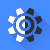 Simple White - Wheel Launcher Theme icon