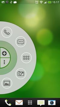 Simple White - Wheel Launcher Theme screenshot 1