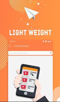 Superb Browser: Free Safe & Caring smart tool screenshot 4