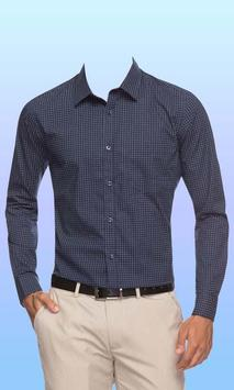 Formal Shirts Photo Suit Editor poster