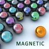 Magnetic balls icon