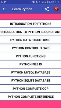Learn Python screenshot 3