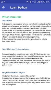 Learn Python screenshot 4