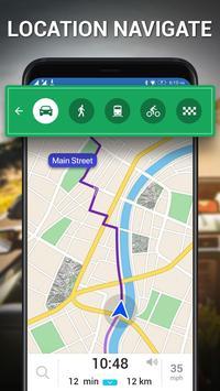 스트리트 뷰-지구지도 라이브, GPS 및 위성지도 스크린샷 3