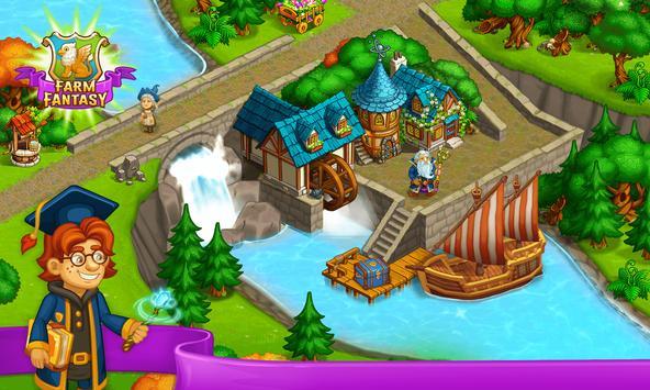 Farm Fantasy: Granja Magica  y Ciudad Encantada captura de pantalla 22