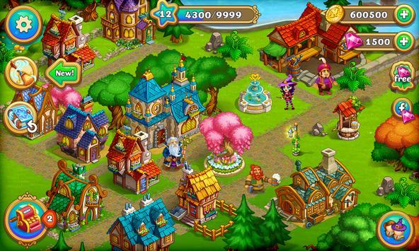 Farm Fantasy: Granja Magica  y Ciudad Encantada captura de pantalla 23