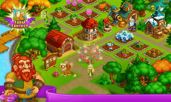 Farm Fantasy: Granja Magica  y Ciudad Encantada captura de pantalla 4