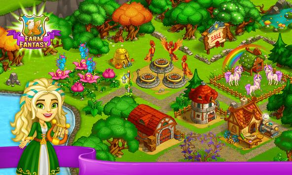 Farm Fantasy: Granja Magica  y Ciudad Encantada captura de pantalla 5