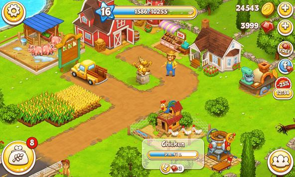 Farm Town تصوير الشاشة 23