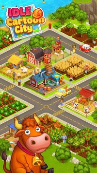 Cartoon city: granja y ciudad captura de pantalla 1