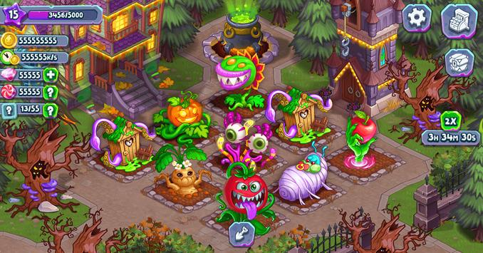Idle Monster: Happy Mansion in Click Away Village screenshot 15