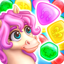 Match3 Magic: Prince unicorn lovely story quest APK