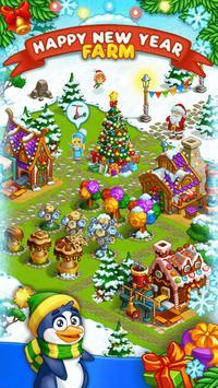 Granja Navideña de Papá Noel Poster