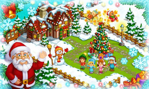 Farm Snow: Happy Christmas Story With Toys & Santa screenshot 4