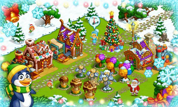 Farm Snow: Happy Christmas Story With Toys & Santa screenshot 9