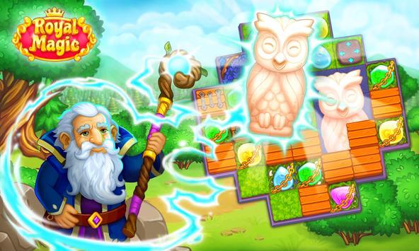 Magic Match3: Prince unicorn lovely story quest screenshot 1