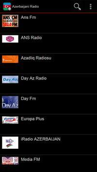 Azerbaijani Radio poster