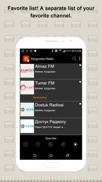 Kyrgyzstan Radio screenshot 3