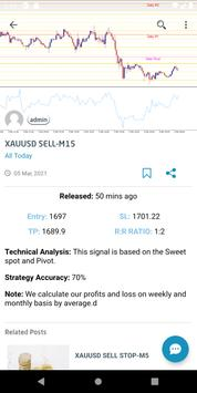 Forex Signal Live Buy Sell With Alert for Mt4 screenshot 2