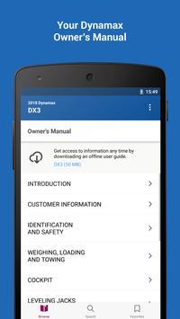 Dynamax RV Owner's Guide screenshot 1