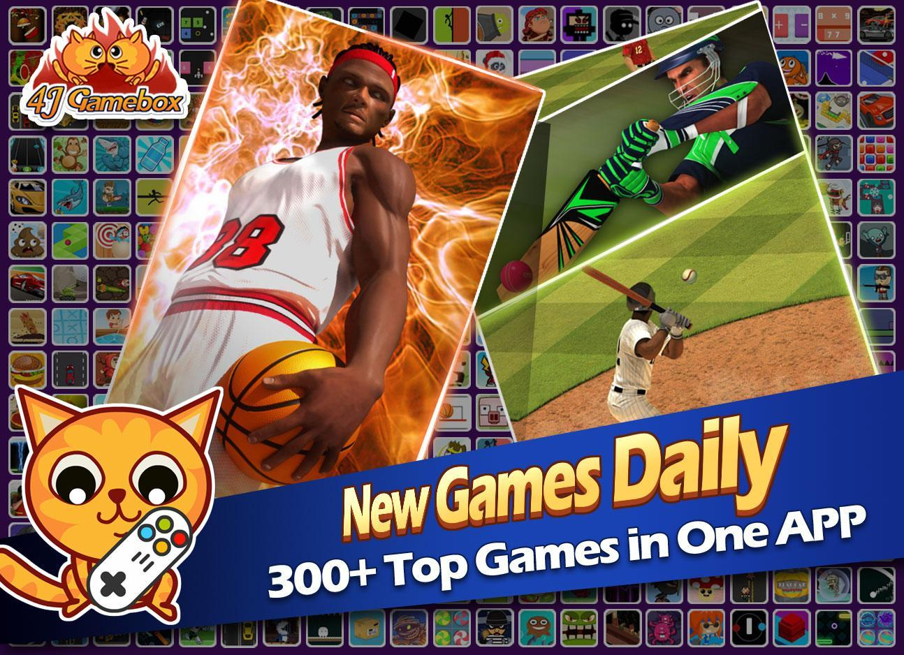 4j Gamebox 300 Games In 1 App For Android Apk Download