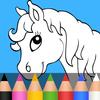 Jogos de animais para crianças: colorir e brincar ícone