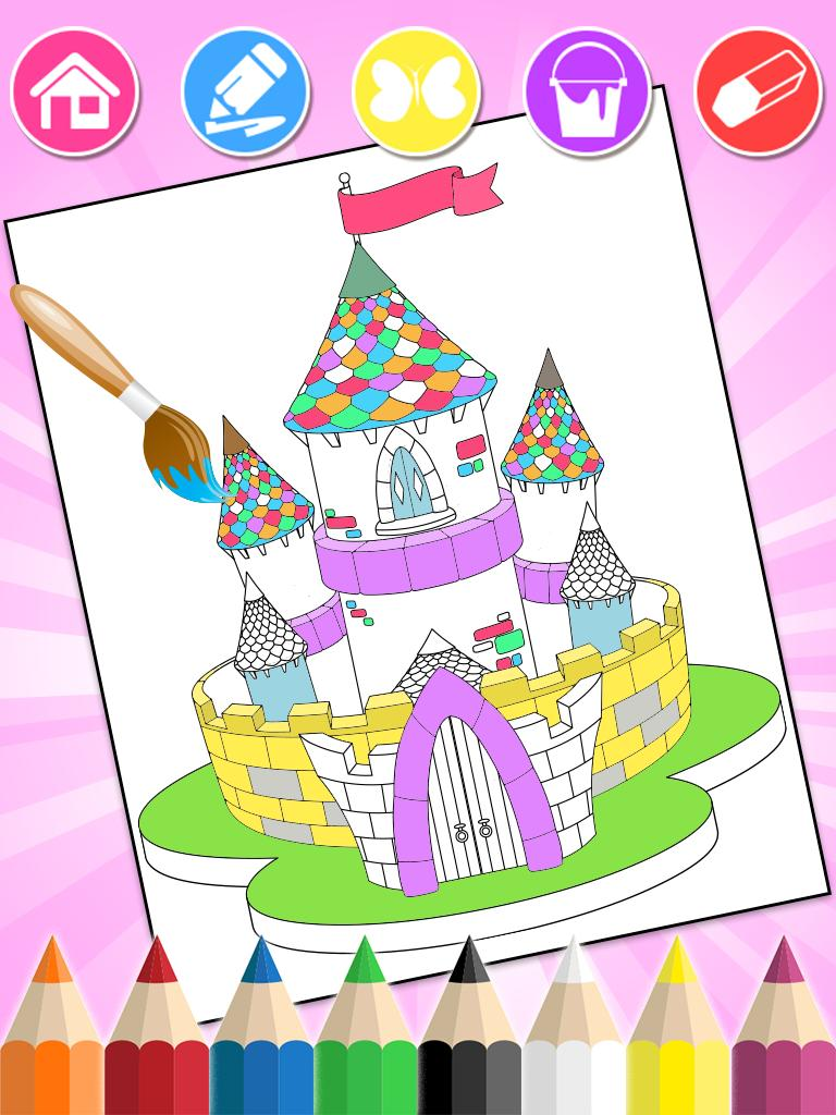 570 Princess Colouring Book App Free Images