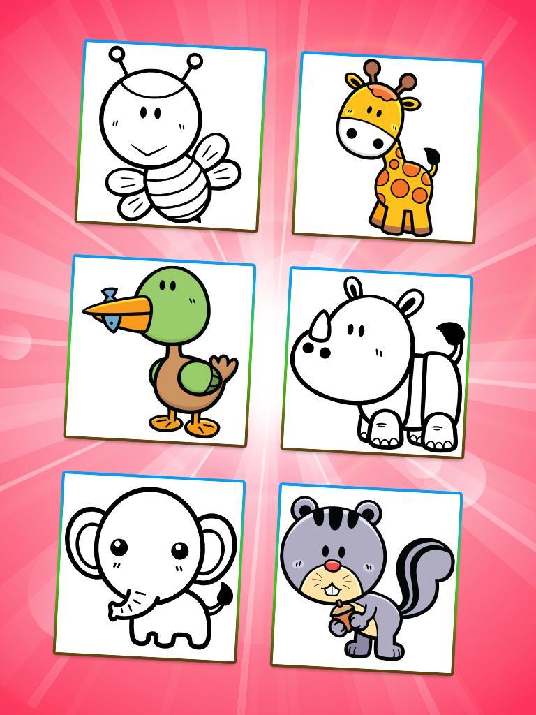 Hewan Mewarnai Untuk Anak Anak For Android APK Download