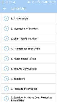 Zain Bhikha Top Songs & Lyrics screenshot 1